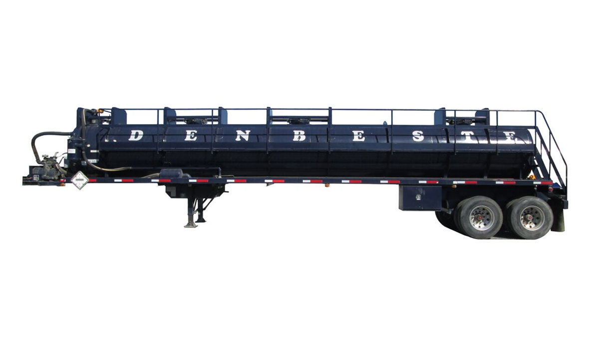 Rent vac trailers from DenBeste environmental equipment.
